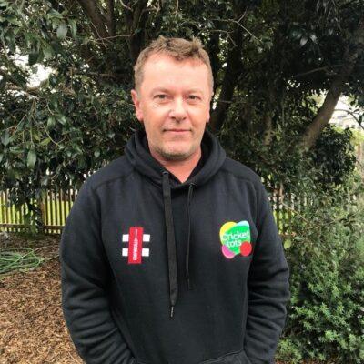 Steve Fitzgerald Cricket tots founder